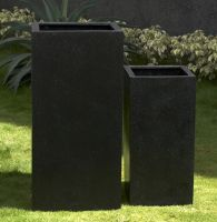 Premium Lightweight Terrazzo Tall Square Column - (450 x 450 x 1000 H mm)