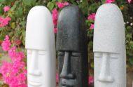 Easter Island  Male - L Statue.