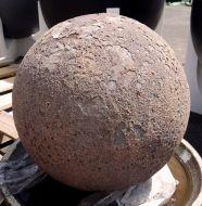 Ocean Rock Ball Feature 500mm - Red Rock